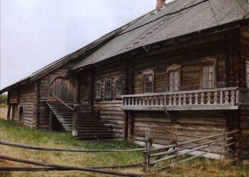 Дом современной северной деревни