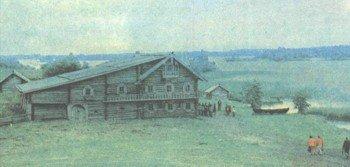 Дом северной деревни