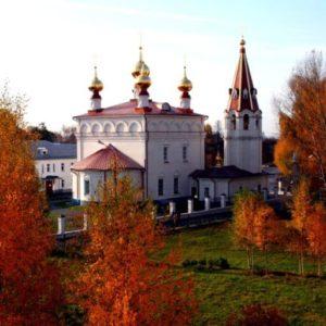 Феодоровский монастырь — место смерти Александра Невского