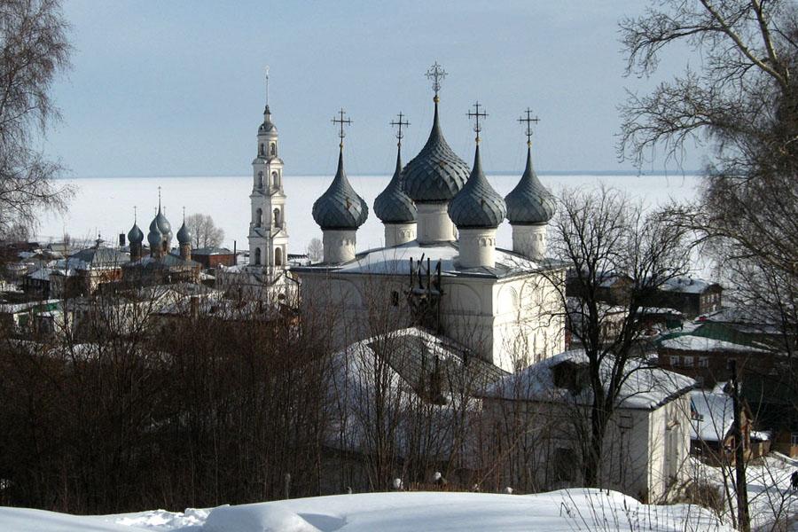 Зимний Юрьевец Ивановская область