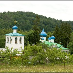 Мальский монастырь в Псковской области