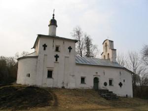 Никольская церковь на Труаоровом городище