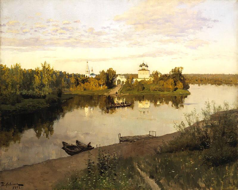 Затонувший монастырь Интересная Россия