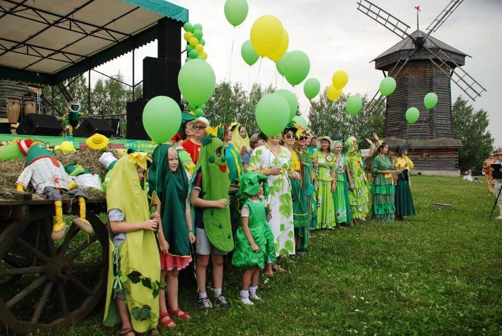 Праздник Огурца в Суздале Интересная Россия
