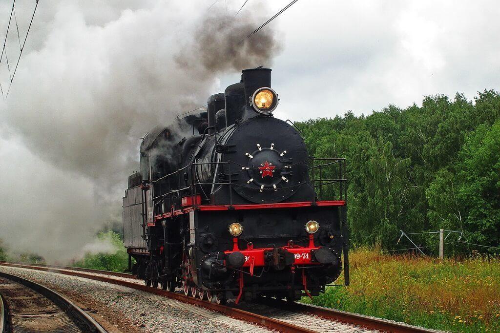 Паровоз в Тверской области Интересная Россия