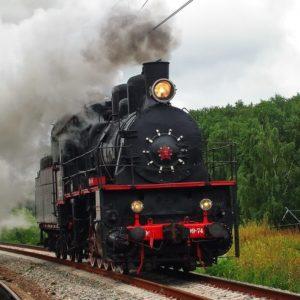 В Тверской области начал курсировать ретропаровоз