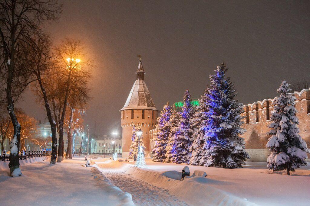 Тула новогодняя столица Интересная Россия