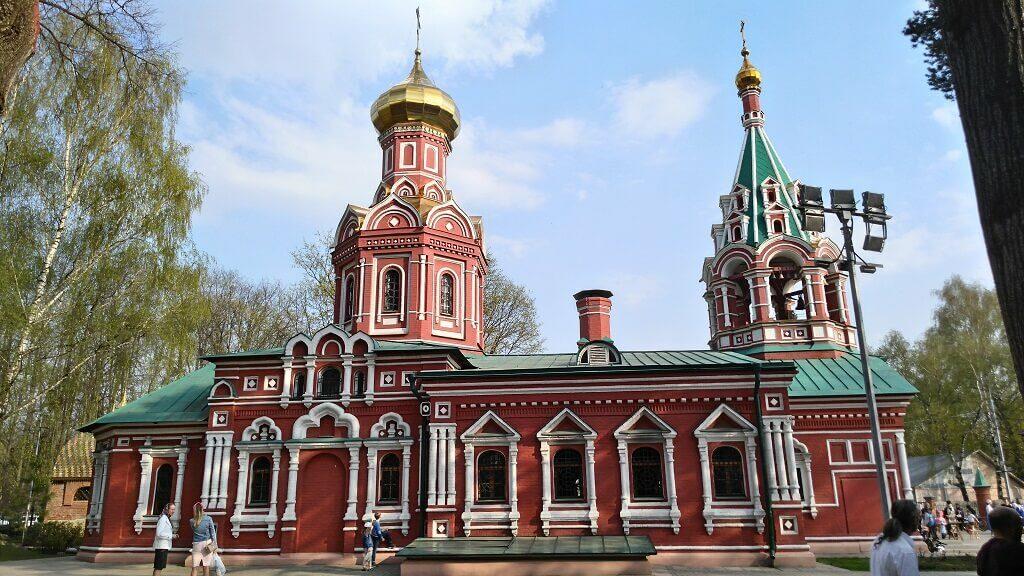 Знаменская церковь в Красногорске