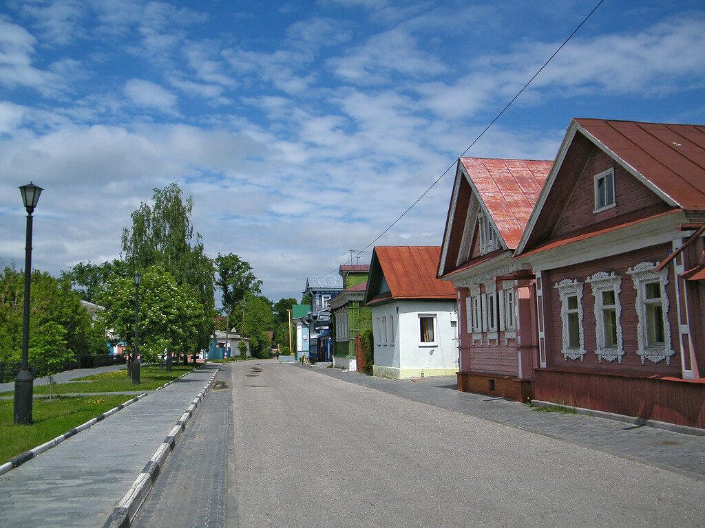 улица городца