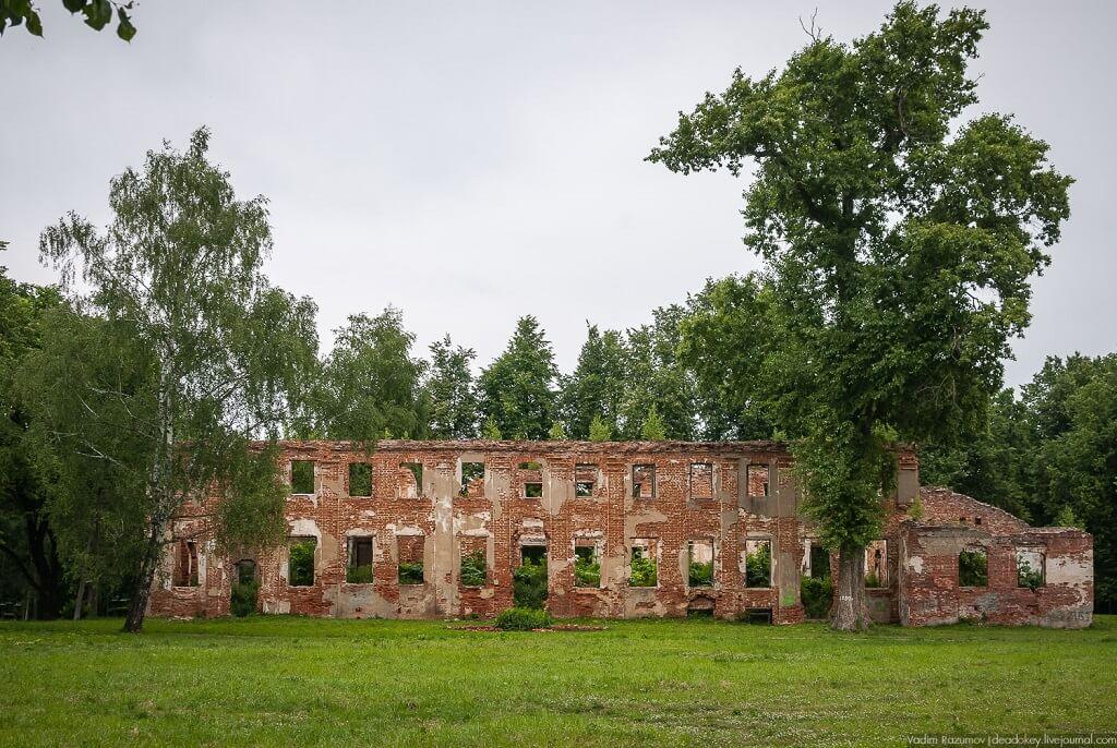 руины усадьбы демьяново сегодня