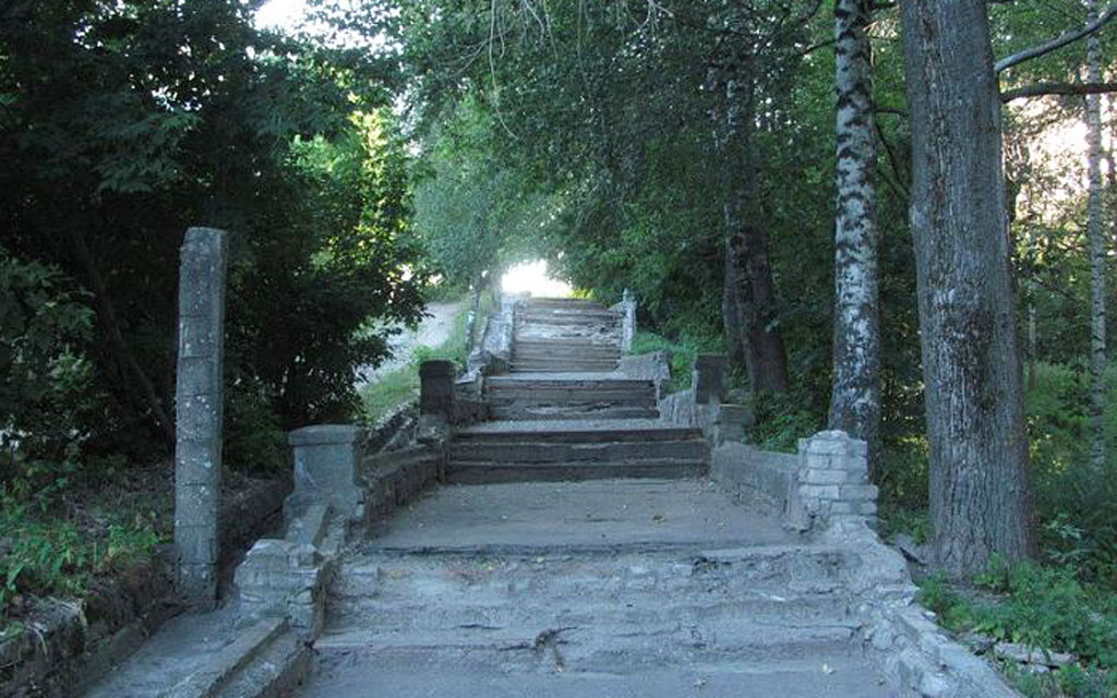 улица-лестница старица