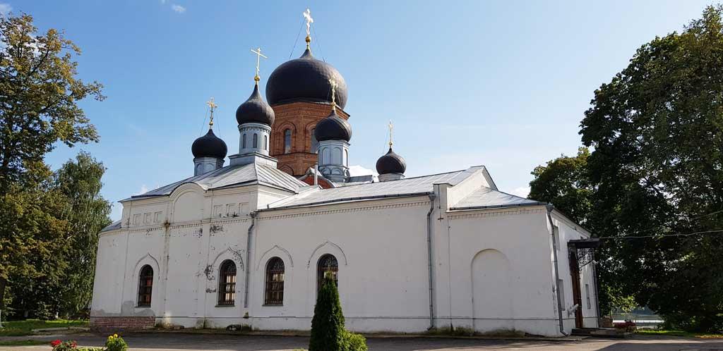 никольская церковь в введенском островном монастыре