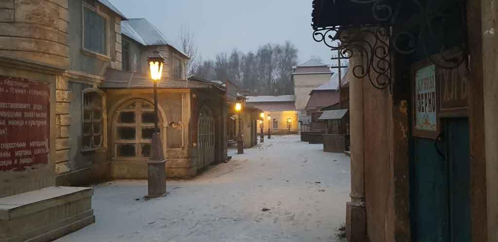киногородок в музее-заповеднике горки ленинские